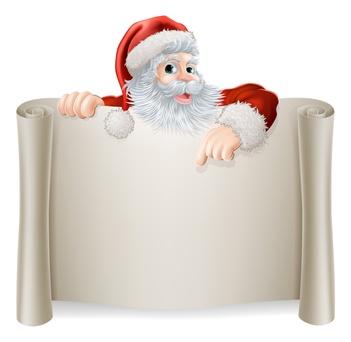 Boite aux lettres du Père Noël ! « Mairie de Saint Trivier sur ...