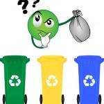 Nettoyage des points d'apport volontaire